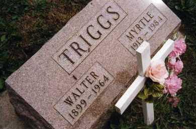 TRIGGS, MYRTLE FRANCES - Dickinson County, Iowa | MYRTLE FRANCES TRIGGS