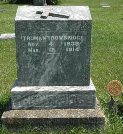 TROWBRIDGE, TRUMAN - Dickinson County, Iowa | TRUMAN TROWBRIDGE