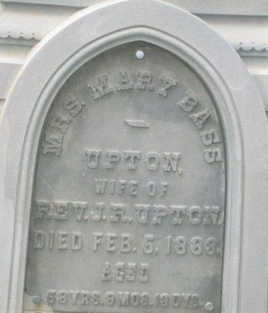 BASS UPTON, MARY - Dickinson County, Iowa | MARY BASS UPTON