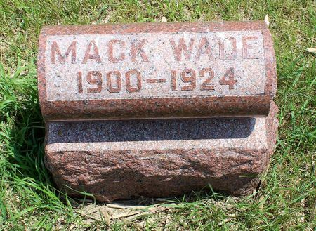 WADE, MACK - Dickinson County, Iowa | MACK WADE
