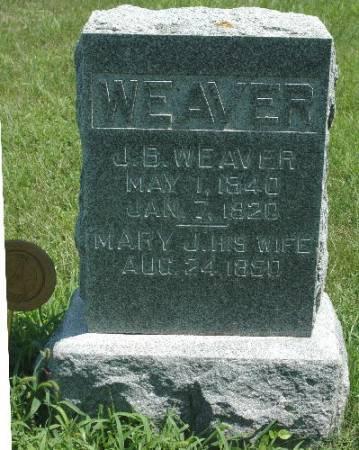 WEAVER, MARY J. - Dickinson County, Iowa | MARY J. WEAVER