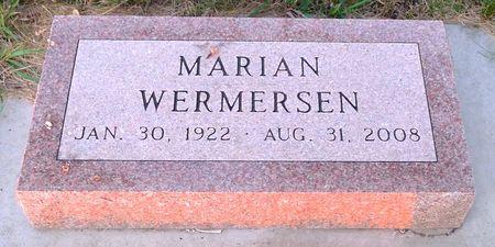 WERMERSEN, MARIAN - Dickinson County, Iowa | MARIAN WERMERSEN