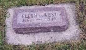 WEST, ELLEN JANE - Dickinson County, Iowa | ELLEN JANE WEST