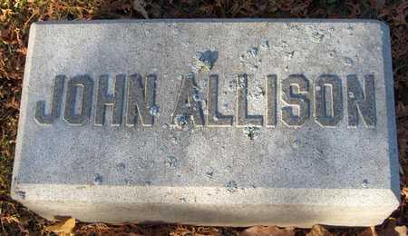 ALLISON, JOHN - Dubuque County, Iowa | JOHN ALLISON