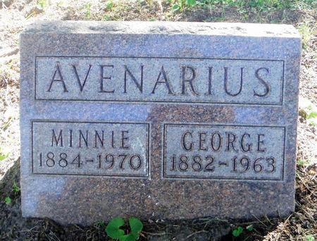 AVENARIUS, GEORGE 'PAT' - Dubuque County, Iowa   GEORGE 'PAT' AVENARIUS