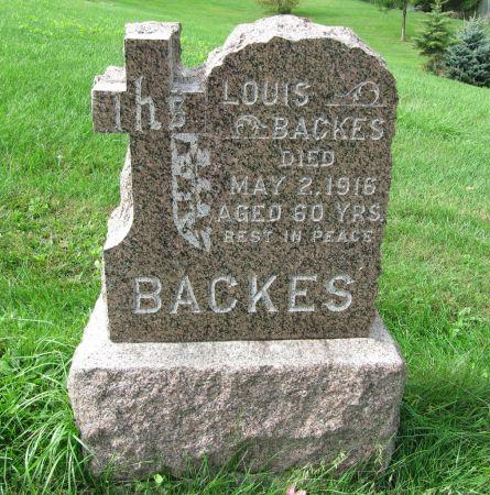 BACKES, LOUIS - Dubuque County, Iowa | LOUIS BACKES