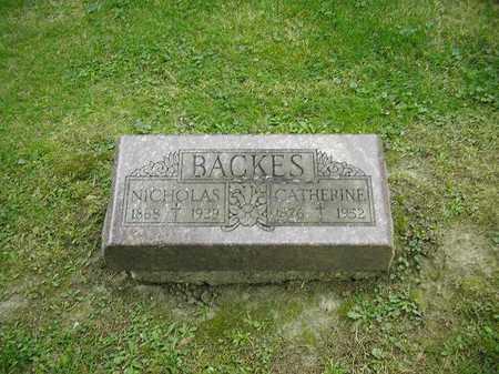 BACKES, NICHOLAS - Dubuque County, Iowa | NICHOLAS BACKES