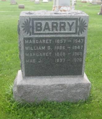 BARRY, MAE J. - Dubuque County, Iowa | MAE J. BARRY