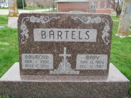 BARTELS, MARY - Dubuque County, Iowa   MARY BARTELS