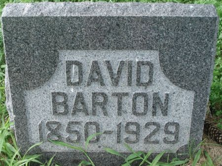 BARTON, DAVID - Dubuque County, Iowa | DAVID BARTON