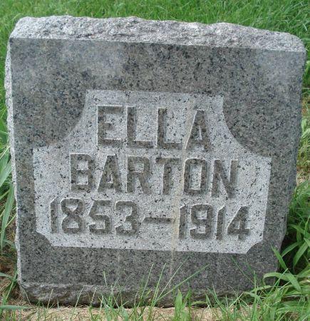 BARTON, ELLA - Dubuque County, Iowa | ELLA BARTON