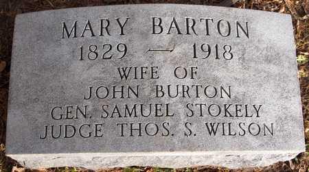 BARTON, MARY - Dubuque County, Iowa   MARY BARTON