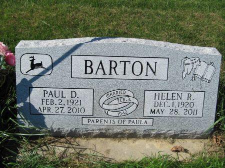 BARTON, PAUL D. - Dubuque County, Iowa   PAUL D. BARTON