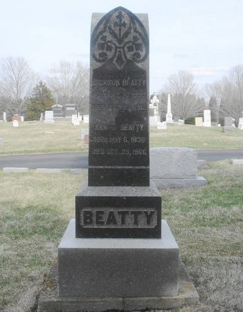 BARTON BEATTY, ANN J. - Dubuque County, Iowa | ANN J. BARTON BEATTY