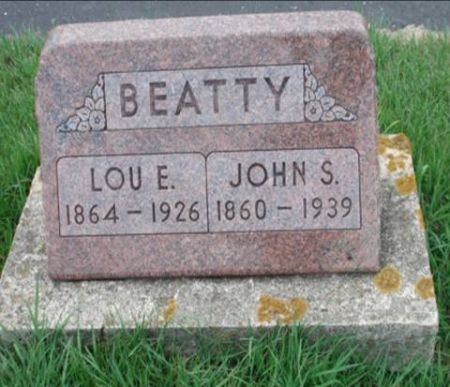 BEATTY, LOU E. - Dubuque County, Iowa | LOU E. BEATTY