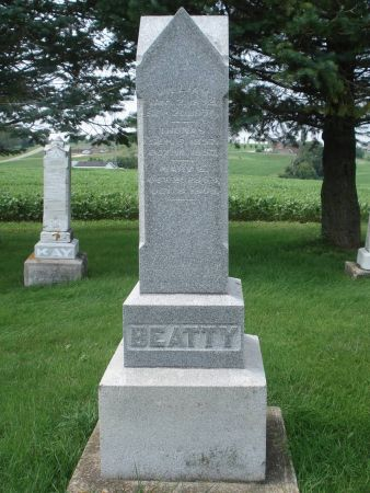 BEATTY, WILLIAM - Dubuque County, Iowa   WILLIAM BEATTY