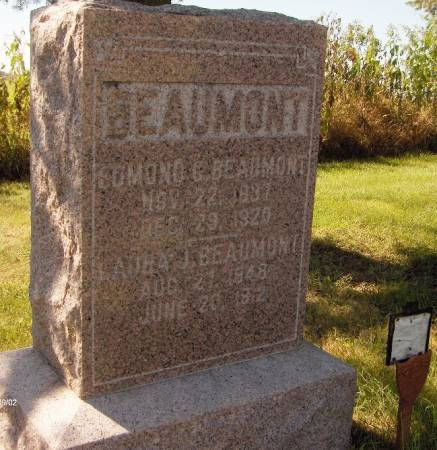 BEAUMONT, EDMOND C. - Dubuque County, Iowa | EDMOND C. BEAUMONT