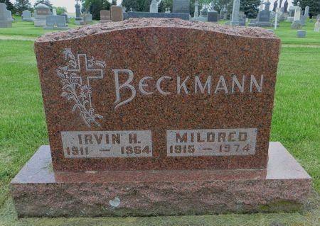 BECKMANN, IRVIN H. - Dubuque County, Iowa | IRVIN H. BECKMANN