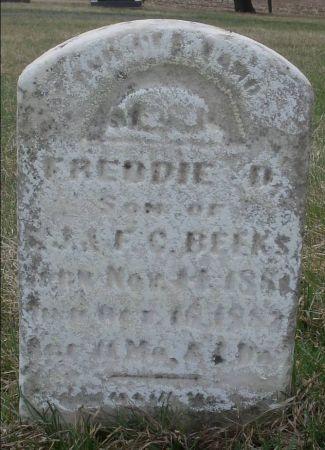 BEEKS, FREDDIE D. - Dubuque County, Iowa | FREDDIE D. BEEKS