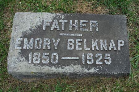 BELKNAP, EMORY MARTIN - Dubuque County, Iowa   EMORY MARTIN BELKNAP
