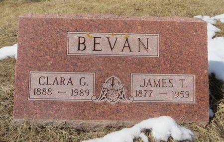 BEVAN, CLARA G. - Dubuque County, Iowa | CLARA G. BEVAN