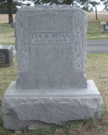 BEVAN, EVA M. - Dubuque County, Iowa | EVA M. BEVAN