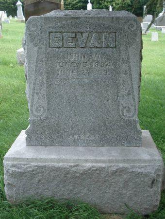 BEVAN, JOHN W. - Dubuque County, Iowa | JOHN W. BEVAN