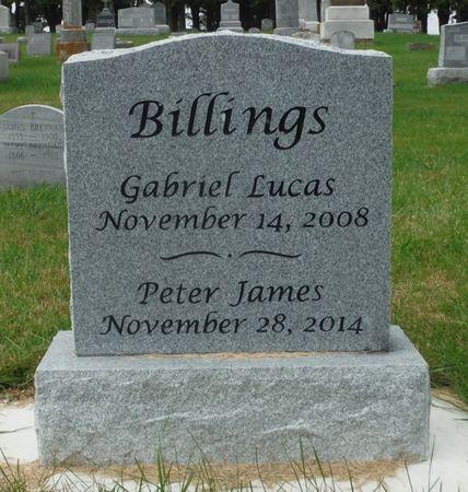 BILLINGS, PETER JAMES - Dubuque County, Iowa   PETER JAMES BILLINGS