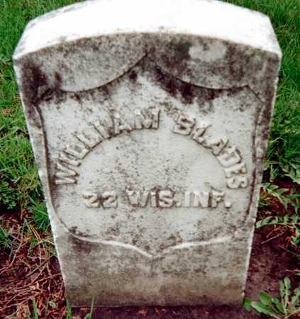 BLADES, WILLIAM - Dubuque County, Iowa   WILLIAM BLADES