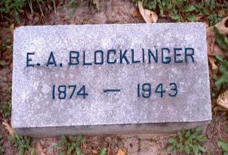BLOCKLINGER, EMILE ARTHUR