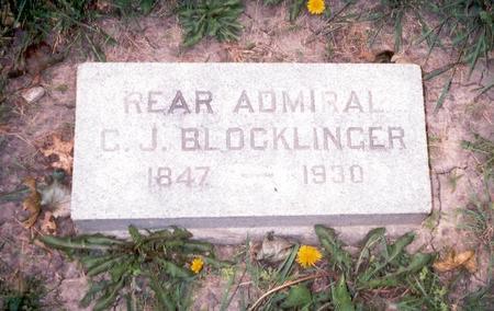 BLOCKLINGER, REAR ADMIRAL GODFREY J. - Dubuque County, Iowa | REAR ADMIRAL GODFREY J. BLOCKLINGER