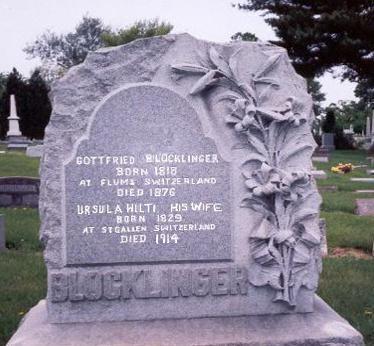 HILTI BLOCKLINGER, URSULA - Dubuque County, Iowa | URSULA HILTI BLOCKLINGER