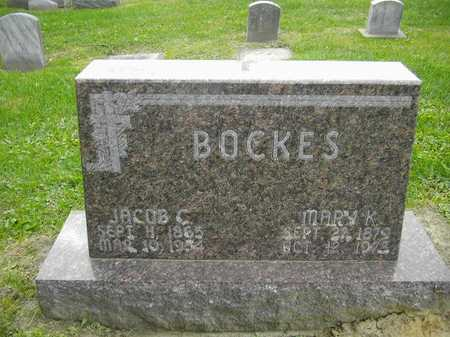 BOCKES, JACOB C. - Dubuque County, Iowa | JACOB C. BOCKES