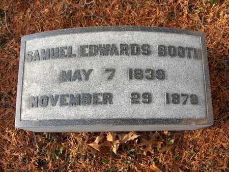 BOOTH, SAMUEL EDWARDS - Dubuque County, Iowa   SAMUEL EDWARDS BOOTH