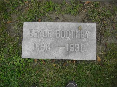 BOOTHBY, BRYCE - Dubuque County, Iowa | BRYCE BOOTHBY