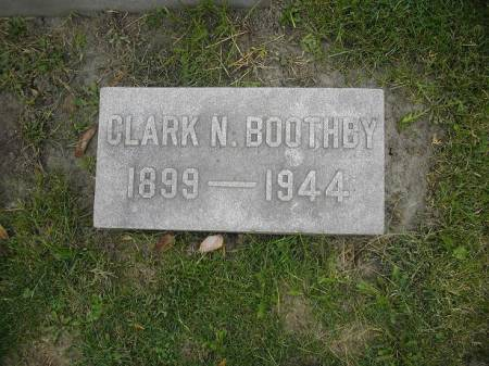 BOOTHBY, CLARK N. - Dubuque County, Iowa | CLARK N. BOOTHBY