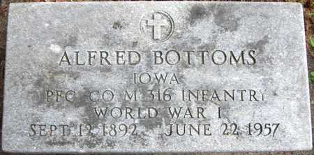 BOTTOMS, ALFRED - Dubuque County, Iowa | ALFRED BOTTOMS
