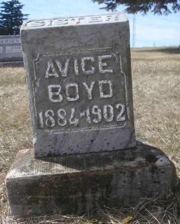 BOYD, AVICE - Dubuque County, Iowa | AVICE BOYD
