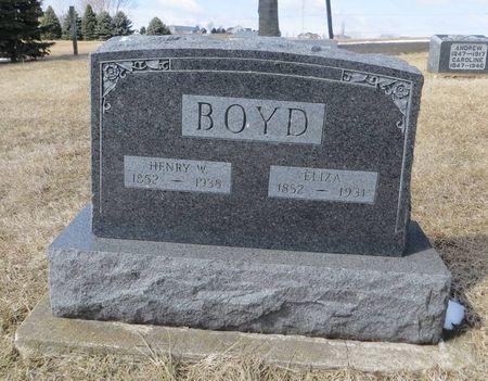 BOYD, HENRY W. - Dubuque County, Iowa   HENRY W. BOYD