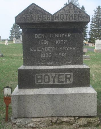 BOYER, BENJAMIN C. - Dubuque County, Iowa | BENJAMIN C. BOYER