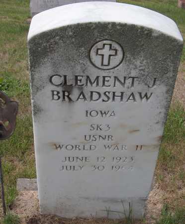 BRADSHAW, CLEMENT J. - Dubuque County, Iowa   CLEMENT J. BRADSHAW