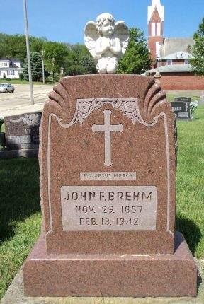 BREHM, JOHN F. - Dubuque County, Iowa | JOHN F. BREHM