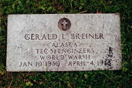 BREINER, GERALD L. - Dubuque County, Iowa | GERALD L. BREINER