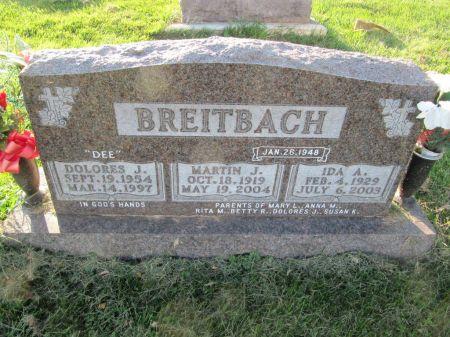 BREITBACH, MARTIN J. - Dubuque County, Iowa   MARTIN J. BREITBACH