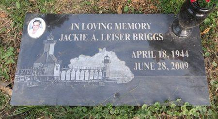 BRIGGS, JACKIE A. - Dubuque County, Iowa   JACKIE A. BRIGGS