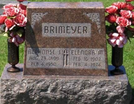 HANSEN BRIMEYER, ELENORA M. - Dubuque County, Iowa | ELENORA M. HANSEN BRIMEYER