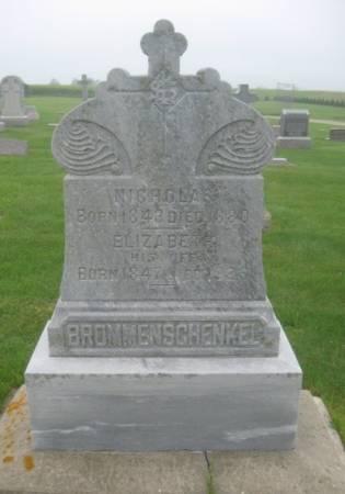 BROMMENSCHENKEL, ELIZABETH - Dubuque County, Iowa | ELIZABETH BROMMENSCHENKEL