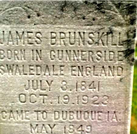 BRUNSKILL, JAMES - Dubuque County, Iowa | JAMES BRUNSKILL