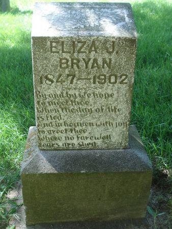BRYAN, ELIZA J. - Dubuque County, Iowa | ELIZA J. BRYAN