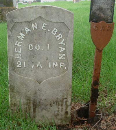 BRYAN, HERMAN E. - Dubuque County, Iowa | HERMAN E. BRYAN
